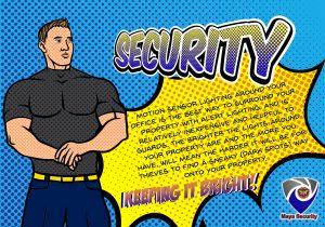 security guard lighting
